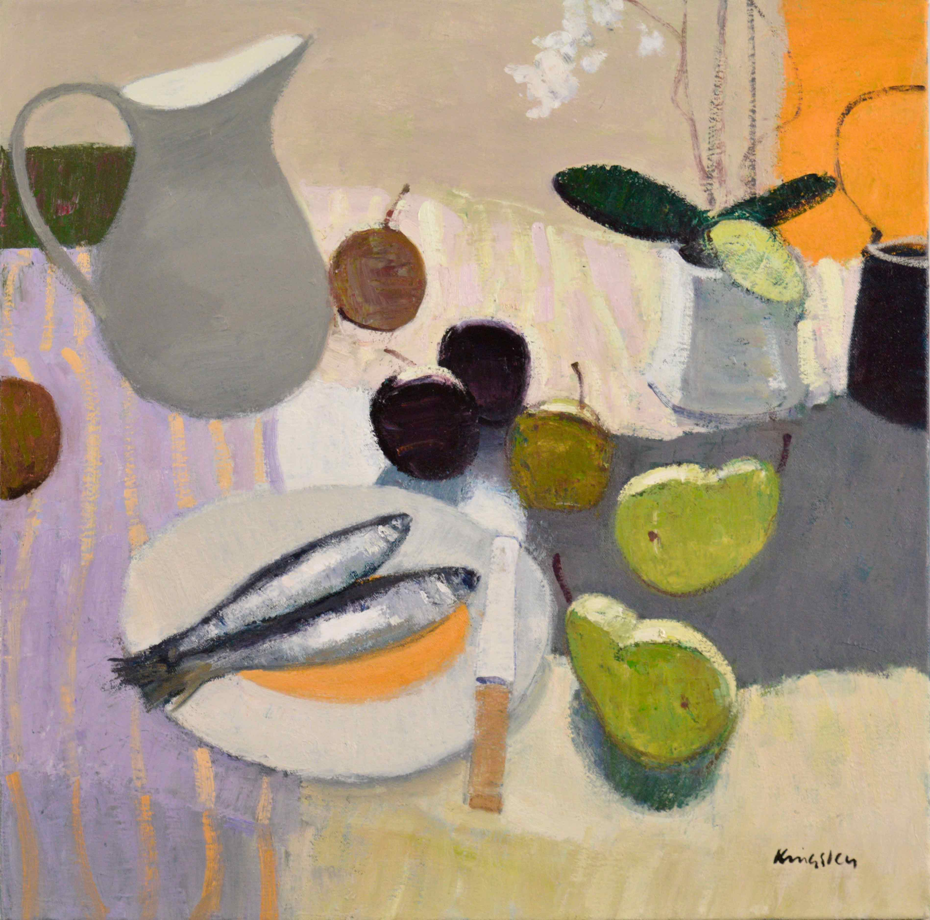 main—Still-Life-with-Fish-and-Fruit-20×20