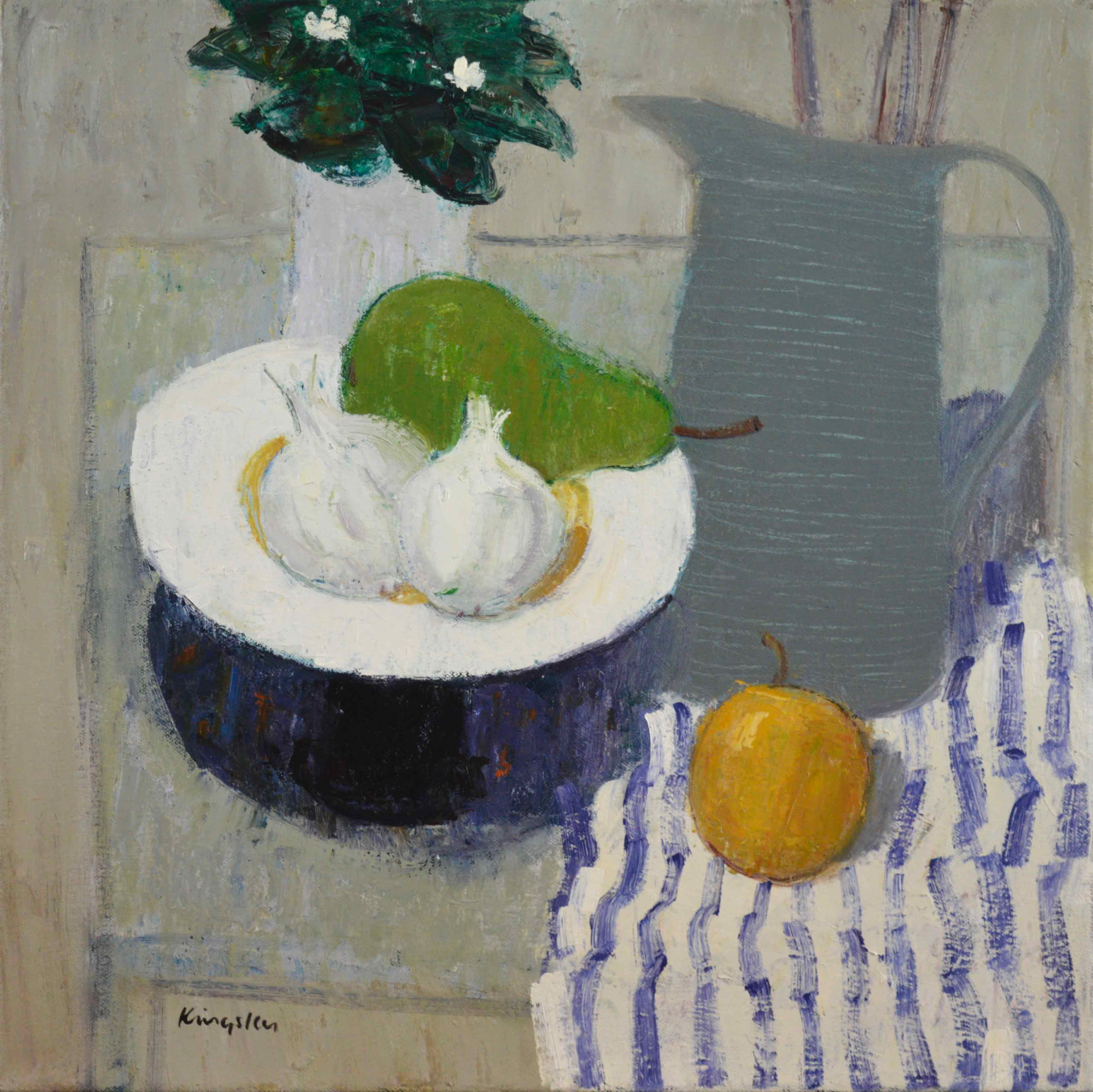 main—Still-Life-with-Garlic-and-Striped-Cloth-16×16