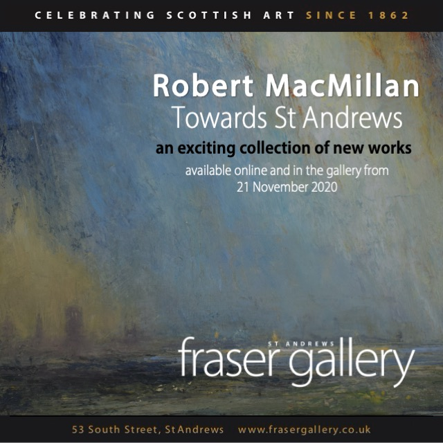 WEBSITE AND MAILCHIMP – ROBERT MACMILLAN – towards st andrews exhibition