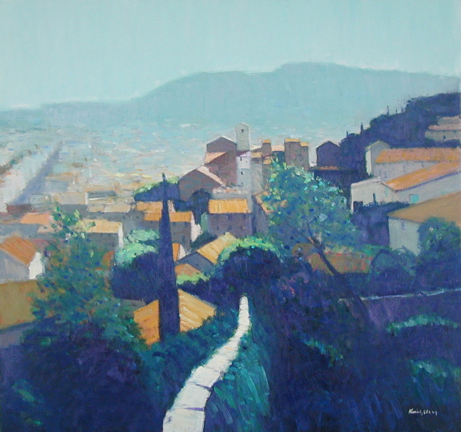 Evening-Light,-Hyeres-30×32-main