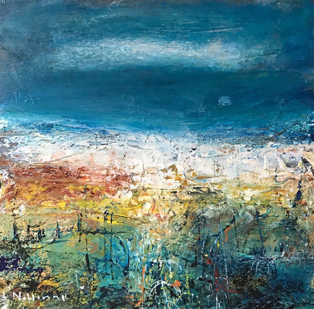 nael hanna – turquoise skies over easthaven – main