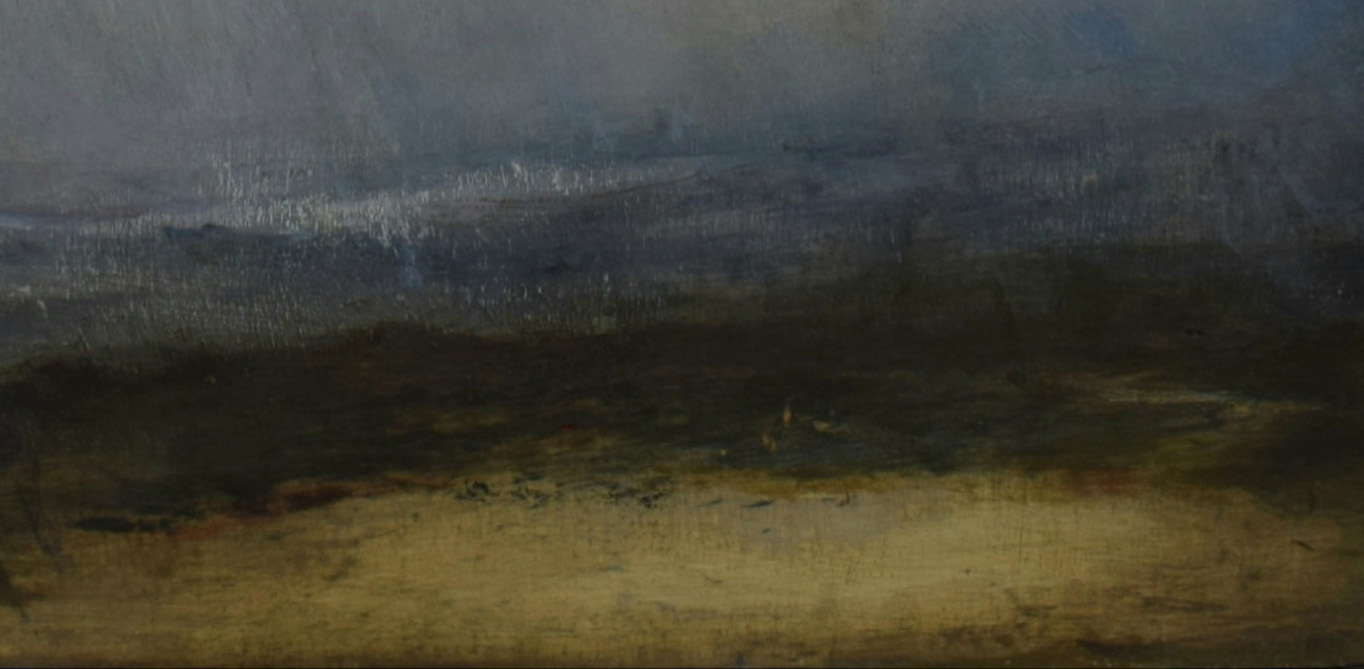 Solace (from the estuary) 42 x 37cm – RMCM:NOV20:18 – Robert MacMillan