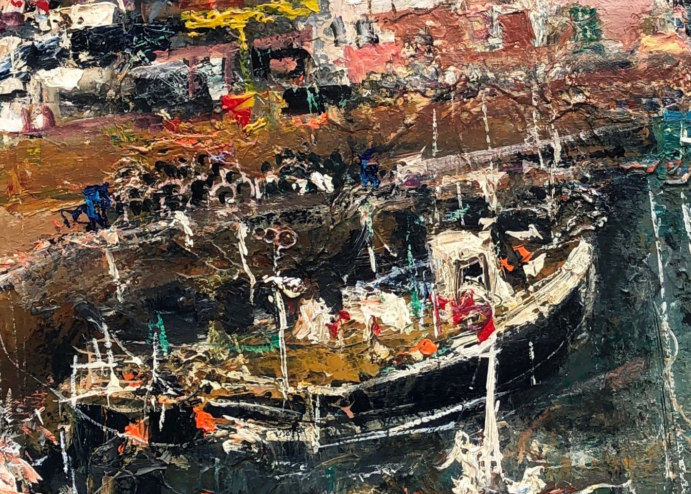 fishing boats at pittenweem harbour – Nael Hanna – main