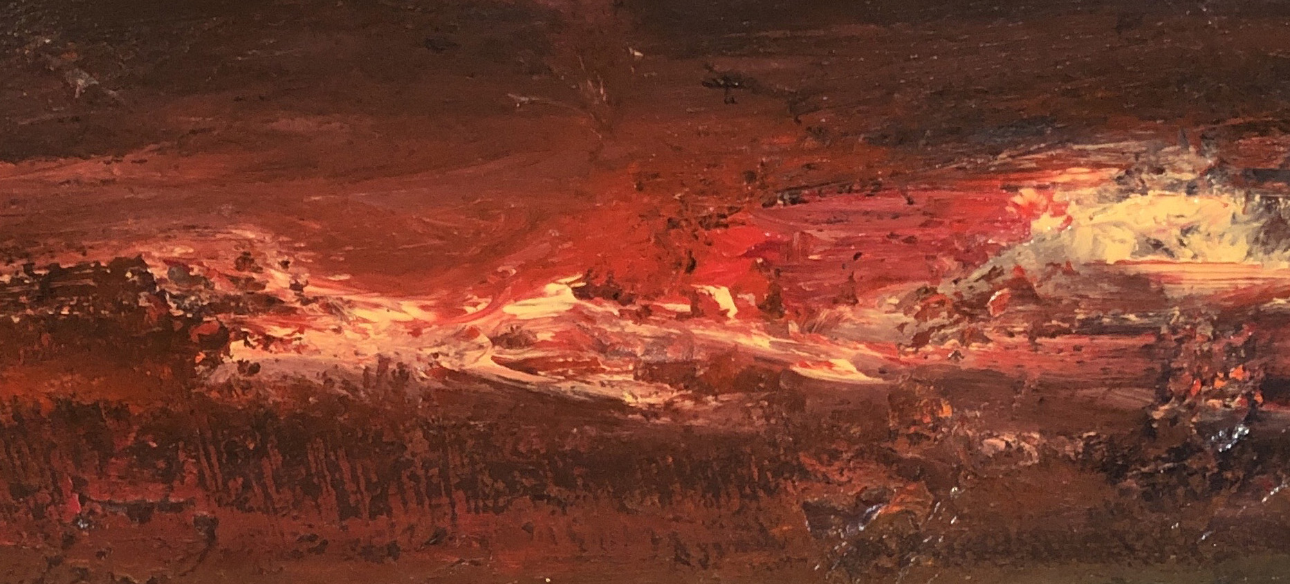red skies at catterline – Nael Hanna – main