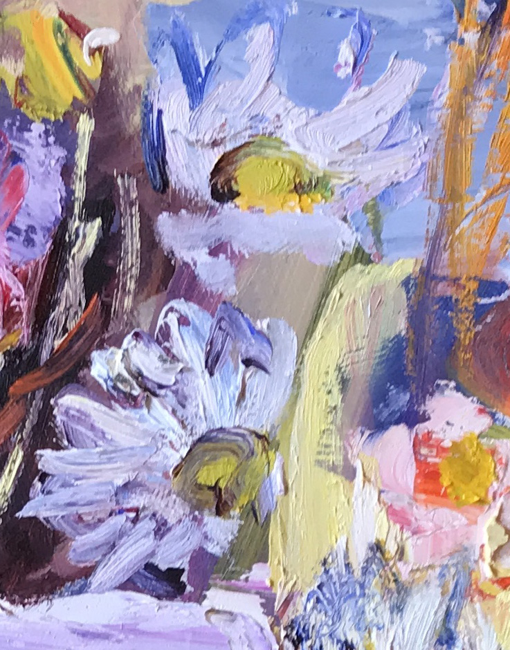 wild poppies at seagreens by David Mackie Cook – main