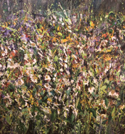 wild flowers by catterline – nael hanna – 59 x 59 – main image